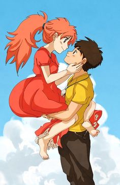 What would be a good title for an essay about the movie Ponyo?