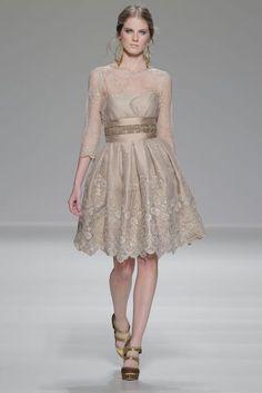 vestidos de fiesta 2014 de Matilde Cano [Fotos]