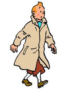 Tintin, created by Georges Remi aka Herge