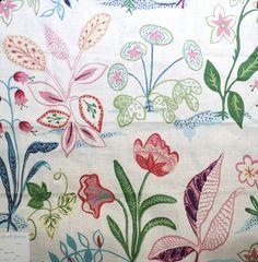 Duralee Fabrics Round Hill Traditional Prints - 20990-137 SPRINGTIME