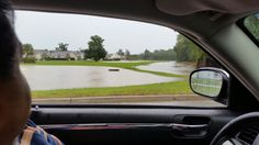 The shrinking strip between the pond and the creek