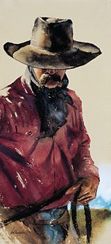 The Art of William Matthews kK Cowboy Artwork, Horse Ranch, Portraits, Painting People, Watercolor Artists, Cowboy And Cowgirl, Western Art, Art Techniques, Cowboys