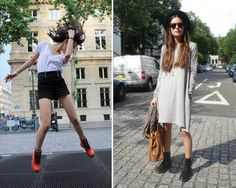 different styles wearing the dr martens