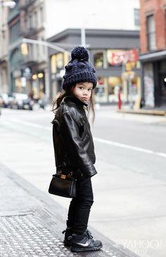 Mini Me: Maia Leung Shows Us How To Rock The Season's Most Playful Bags | Fendi Black Nappa Leather Micro Peekaboo