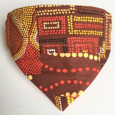 A personal favourite from my Etsy shop https://www.etsy.com/au/listing/510495709/dog-bandana-pet-bandana-indigenous-patch