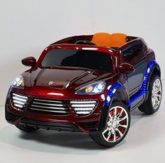 Porsche Cayenne style 2016 Ride On Car For Kids with Remote Control | Red