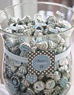 Cute favor idea...with little boxes or bags for take home