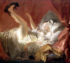 Jean-Honorè Fragonard,  Ragazza che gioca col cagnolino, 1765-1772