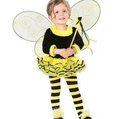 Toddler's bumblebee costume Worn once, so cute! In a original bag. spirit Halloween Other
