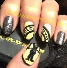 Gold's Gym Nails Sports Nail Art, Gold's Gym, Class Ring, Nails, Finger Nails, Ongles, Nail, Nail Manicure