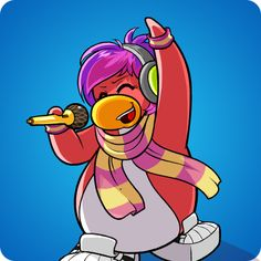 Rock Star Hair | Club Penguin