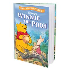 My Adventures with Winnie the Pooh - 8x11 Hard Cover Book - Personalized Books - Books | Tv's Toy Box