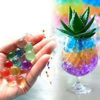 Multi-Coloured Crystal Soil Water Beads
