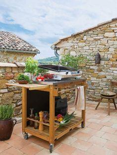 R sultat de recherche d 39 images pour barbecue en pierre for Nettoyage d une plancha en fonte emaillee