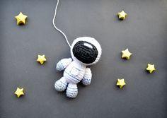 Ravelry: Astronaut Amigurumi pattern by CitrouilleWorld