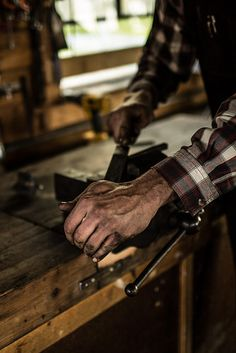 """Daily Man Up Photos) Ever been told to """"man up""""? Very few men ever """"man up"""" and it's about time we do. I'm not talking about some testosterone-fueled call to a. Working Hands, Working Class, Bobby Singer, Hand Photography, Photography Hacks, Its A Mans World, Man Up, Workshop, Artisan"""