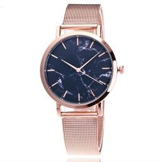 "Universe of goods - Buy ""Vansvar Brand Fashion Silver And Gold Mesh Band Creative Marble Wrist Watch Casual Women Quartz Watches Gift Relogio Feminino"" for only USD. Cheap Luxury Watches, Mesh Armband, Watch Brands, Smartwatch, Unisex, Watches For Men, Wrist Watches, Women's Watches, Watches Online"