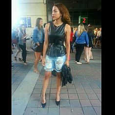 Concert outfit. #ontherun #beyonce #jayz #frecklesfashionandflaws.com  http://frecklesfashionandflaws.com/