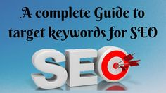 you want your website on Google's first page?? Here Is complete Guide How to target keywords for SEO ‪#‎blogging‬ ‪#‎SEO