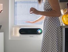 Noria Home is raising funds for Noria: Cool, redefined. on Kickstarter! Noria is the first window air conditioner designed entirely with you in mind. Modern Windows, Small Windows, Small Window Air Conditioner, Compact Air Conditioner, Nouveaux Gadgets, Cooktops, Window Ac Unit, Air Conditioning Units, Basement Windows