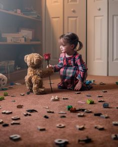 The teddy bears in our house are immensely popular. Even with more than a bear per person, miniature toddler fights erupt every so often. Baby Pictures, Baby Photos, Cute Pictures, Beautiful Children, Beautiful Babies, Beautiful Life, Little People, Little Ones, Cute Kids