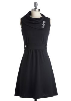 Coach Tour Dress in Noir, #ModCloth