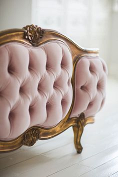 the French Bedroom Company Blog looks at how to get the look of Pantone Colours of the Year 2016 rose quartz and serenity blue. our beautiful Pink velvet tufted, buttoned upholstered and gold Sacre Coeur Bed is the perfect addition to your french interior design and room.