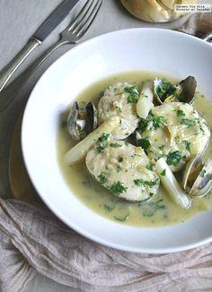 Merluza en salsa verde. Recta de cocina fácil, sencilla y deliciosa