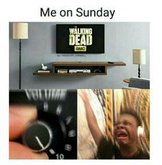 The Walking Dead #twd #SUNDAY