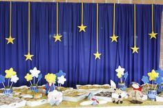 Mesa de salgados Ramadan Decorations, Graduation Decorations, School Decorations, Birthday Party Decorations, Baby Shower Decorations, Birthday Parties, Party Themes, Prince Birthday, Prince Party