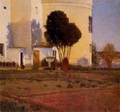 Garden of Vinyet, 1892  Santiago Rusiñol
