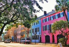 Rainbow Row • Charleston, SC                                                                                                                                                                                 More