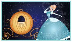 Cinderella and her pumpkin coach