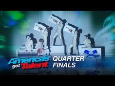 Siro-A: Dance Group Stuns with Visual Dance Experience - America's Got Talent 2015 - YouTube  Love this group