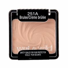 Wet n Wild Color Icon Collection Eyeshadow Single, Brulee. If you have nothing else WnW- you need this! It's the perfect shadow for blending, setting eye primer, all over lid, brow clean up/under brow highlight, keeping liner under eyes from bleeding etc.