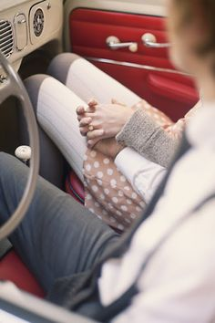 holding hands while riding in the car.....still one of my favorite things to do, even after 30 years.
