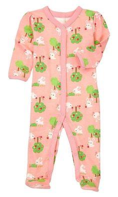 NWT Hanna Andersson Mouse Ice Skating Pajamas 1PC Sleeper Baby Toddler Girl