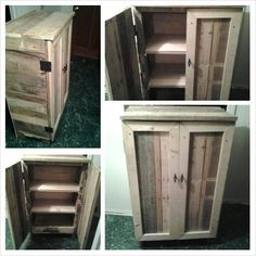 furniture cabinet pallet, diy - Buscar con Google