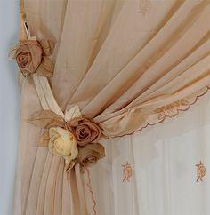 rideaux deco rideau attache rideau