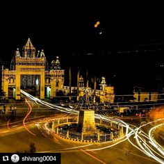 #Repost @shivang0004 with @repostapp Get featured by tagging your post with #talestreet Banaras Hindu University #light #trails #nikonindia #natgeo #talestreet #_soi #nikon #d5300 #nightphotography #banaras #wanderer #photographyislifee #travelindia #lighttrails #explore #exploration #india #indiaclicks #nightsky #nightout #twitter