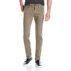 AG Adriano Goldschmied Mens 'The Nomad - Modern Slim' Beige Pants 28x33 NWT $178 #AGAdrianoGoldschmied #SlimSkinny