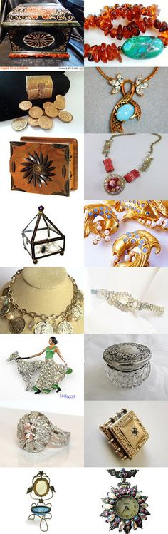 Treasure Chest of Gifts - Vogue Team by Betty S. on Etsy--Pinned+with+TreasuryPin.com