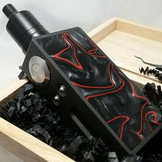 """Indeed, @ocdmods emoji By @ocdmods """"Twotonian Mods and OCD Mods colaboration. One of the most beautiful devices I have ever seen. Set up topped off with custom black Hellfire Shorty. Pure sex. @twotonian_mods #vaping #zero #customcoatings #highendmods #regulated #variablewattage #vape #ecig #ejuice #dripper #rda #custommods #vapeporn #vaper #vapefam #vapefamily #kickassmod #secondtonone #doneright #ocdmods #eliquid #eliquids #ejuice"""""""