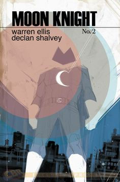 Moon Knight 2 variant cover by Phil Noto *