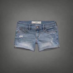 A&F Midi Length Shorts