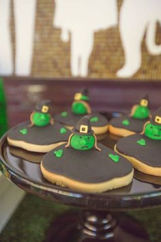 Wizard of Oz Themed Birthday Party via Kara's Party Ideas: Love the cookies