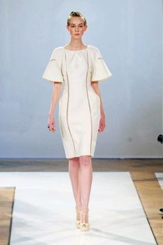 See the entire collection from the Christophe Josse Spring 2012 Couture runway show.