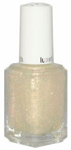 Essie The Shine of the Times. Flaky top coat goodness!