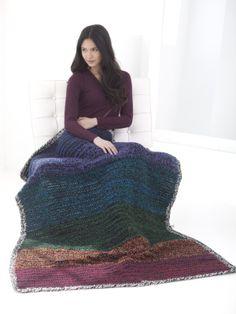 Kaleidoscope Afghan - #crochet pattern