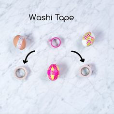Decorating eggs with washi tape is fun and easy. Wrap the entire egg in tape, or cut the tape into creative shapes. And if you change your mind, you can easily remove and replace the tape. Incredible Eggs, Easy Wrap, Cut Out Shapes, Egg Decorating, Washi Tape, Safe Food, Easter Eggs, The Incredibles, Change